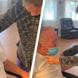 Florida Couple Separated For 215 Days During Pandemic Reunites In Emotional Video