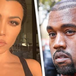 Kourtney Kardashian Becomes First In Family To Endorse Kanye West For President