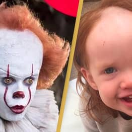 Toddler Looks Like Pennywise The Clown After Getting Hands On Hair Removal Cream