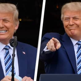 Trump Claims He's 'Immune' To Coronavirus Thanks To A Protective Glow