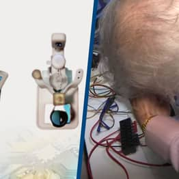 Man Invents Robot To Insert And Remove Contact Lenses