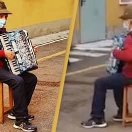 Man, 81, Serenades Sick Wife From Outside Hospital