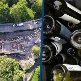 Canadian City Is Building Bridges Using Recycled Wine Bottles