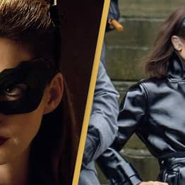 Anne Hathaway Says Zoë Kravitz Is The 'Perfect Choice' For Catwoman