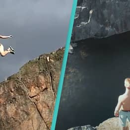 A Swedish Daredevil Took Us Death Diving, And It Hurt