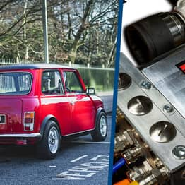 You Can Now Convert A Classic Mini To Electric Power With This New Engine Kit