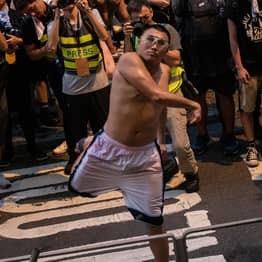 Hong Kong Protester Sentenced To 21 Months In Prison For Throwing Eggs