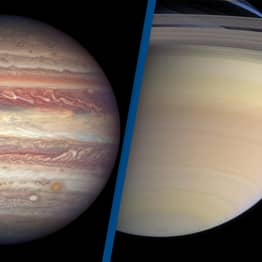 Jupiter And Saturn Closer In Night Sky This Christmas Than They've Been In 800 Years