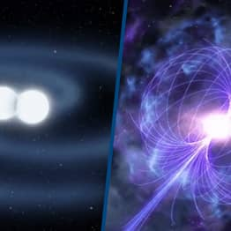 Astronomers May Have Just Seen Two Neutron Stars Collide To Form A Magnetar