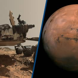 Evidence Of Megafloods Found On Mars Found By Curiosity Rover