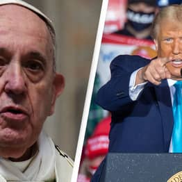 Pope Francis Seemingly Just Compared Trump To Hitler