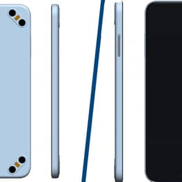 Chinese Tech Company Patents Bizarre Phone Design With Eight Cameras
