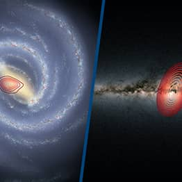 Another Galaxy Was Absorbed Into Ours After Colliding With The Milky Way 10 Billion Years Ago