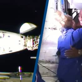 Historic SpaceX Mission Successfully Docks With International Space Station