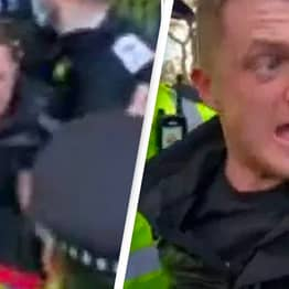 Tommy Robinson 'Arrested For Breaking Covid Rules' At London Rally