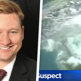 Man Attempting Bond-Like Underwater Escape From FBI Caught From Water Bubbles