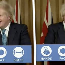 Boris Johnson Laughs After Being Questioned About No-Deal Brexit
