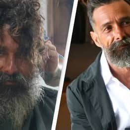 Homeless Man Who Made News After Getting Haircut Recognised By Family Who Thought He Was Dead
