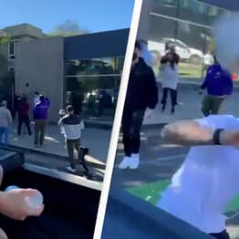 Jake Paul Does Drive-By Attack On Conor McGregor's Teammate Dillon Danis