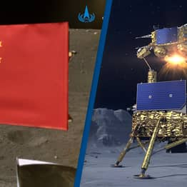 China Becomes Second Ever Country To Plant Its Flag On The Moon