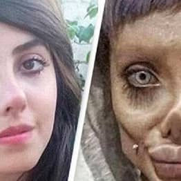 Iranian 'Zombie Angelina Jolie' Reportedly Released Days After 10-Year Prison Sentencing