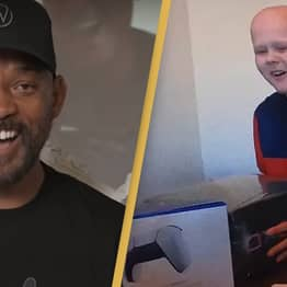 Will Smith Surprises 14-Year-Old Cancer Patient With Playstation 5