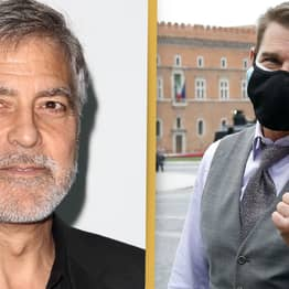 George Clooney Defends Tom Cruise Yelling At Mission Impossible Crew For Breaking COVID Rules