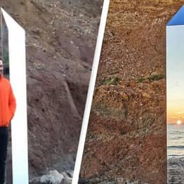 Designer Says He Put Up The Isle Of Wight Monolith