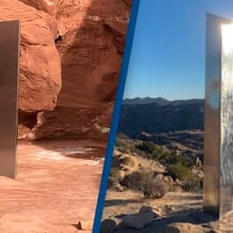 Yet Another Monolith Has Appeared Outside Of Joshua Tree National Park