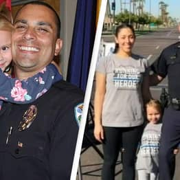 Arizona Police Officer Adopts 4-Year-Old Girl He Helped Rescue From Abusive Home