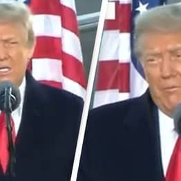 Trump Claims 'We Will Be Back' In Ad-Libbed Farewell Speech