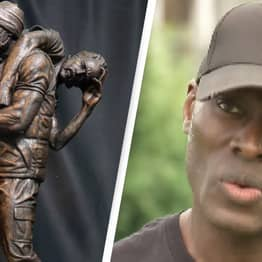 Black Lives Matter Demonstrator Who Rescued Counter-Protester Immortalised With Bronze Sculpture