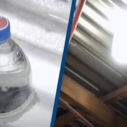 People Without Electricity Turn Bleached Plastic Bottles Into Lights For Their House