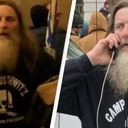 Man Wearing Camp Auschwitz Hoodie During US Capitol Riots Has Been Arrested