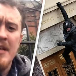 Capitol Rioter Who Bragged About Breaching Capitol Begs For Forgiveness