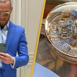 Conor McGregor Gets Roasted After Showing Off $1 Million Diamond Watch