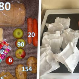 Food Parcels Sent To School Kids Provide 3,000 Calories For 10 Days