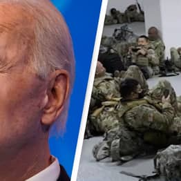 Biden Apologises To National Guard Chief After 5,000 Soldiers Slept In Parking Garage