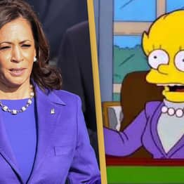 People Think The Simpsons Predicted Kamala Harris Becoming Vice President