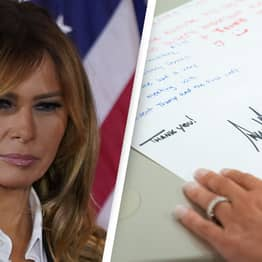 Melania Trump Did Not Write Her Own Thank You Notes To White House Staff