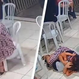 Heroic Pregnant Mother Throws Herself On Son To Shield Him From Gunfire