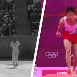 Everyone's Making The Same Joke About Two Gold Medal Winning Athletes 80 Years Apart