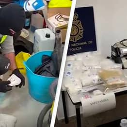 Nearly One Million Ecstasy Tablets Seized In Spain's Largest Haul Of Synthetic Drugs