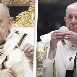Pope Francis Reportedly Told To Stop Eating Pasta To Help His Back Pain