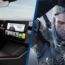 Tesla Model S Is Now Powerful Enough To Play The Witcher 3