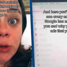 TikToker Discovers Way You Can Find Out All Of Google's Creepy Assumptions About You