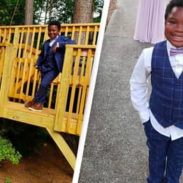 7-Year-Old Boy Throws Prom For His Babysitter After Hers Was Canceled