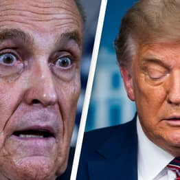 Rudy Giuliani Realises He Can't Be Trump's Impeachment Lawyer Because He's Witness In Case