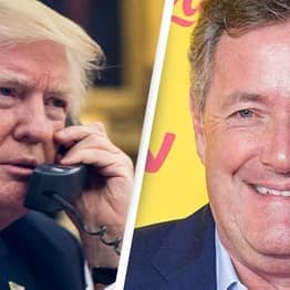 Donald Trump Prank-Called By Piers Morgan Impersonator On Air Force One