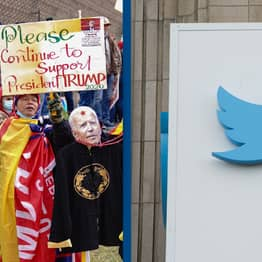 Police Preparing For Pro-Trump Rally At Twitter Headquarters Today
